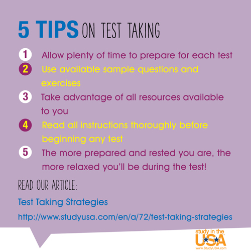 blog Image 5 Tips on Test Taking